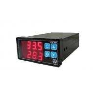 ИТВ2605/8DIN – 8 каналов температуры и относительной влажности, малогабаритный